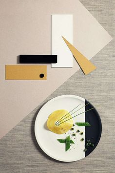 several Architecture-Inspired Food Photography