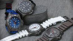 Victorinox Swiss Army INOX Professional Diver Titanium Watches Hands-On Titanium Watches, Swiss Army Watches, Victorinox Swiss Army, Casio Watch, Leather Men, Watches For Men, Men's Watches, Smart Watch, Bracelet Watch
