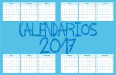 #Calendários2017. Versões em: Excel, Corel e Word. http://bit.ly/versoescalendarios2017