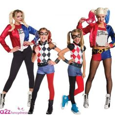 Suicide #squad ladies girls kids adult harley quinn fancy dress #costume #outfit ,  View more on the LINK: 	http://www.zeppy.io/product/gb/2/112081584188/