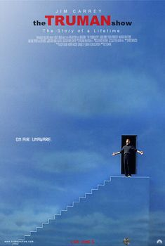 """The Truman Show """"In case I don't see ya, good afternoon, good evening, and good night!"""""""