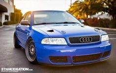 Stanced Audi S4