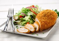This chicken is easy to prepare and just as tasty as deep-fried chicken, yet much healthier.