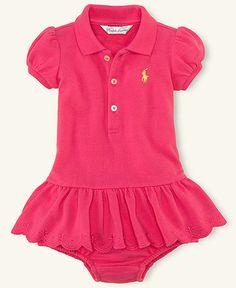 Pink Ralph Lauren Baby Dress. ABSOLUTELY LOVE