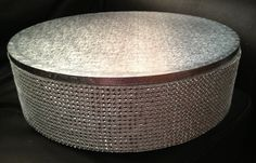 Blinged Out Wedding Cake Stand by Patricia Sosa