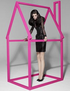 10 magazine Stylist: Sophia Neophitou Make Up: Sharon Dowsett Set designer: Alexis Barbera Photography: Luciana Val and Franco Musso
