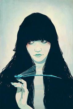Portrait Illustrations by Jason Levesque