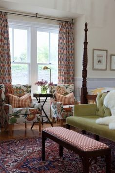 Sarah Richardson: love all the color & pattern