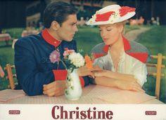 Alain Delon Romy Schneider Christine 1958 Vintage Lobby Card 4 | eBay