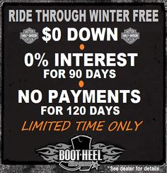 Ride free till spring limited time at Bootheel Harley-Davidson Used Harley Davidson, Motorcycle, Spring, Free, Motorcycles, Motorbikes, Choppers