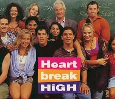 "Nostalgic ""The nineties"": heart break high!"
