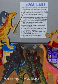 Lessons from Dinos during Dinovember
