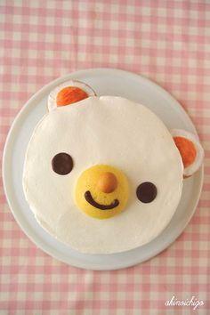 Cake bear #cake #sweet #cook
