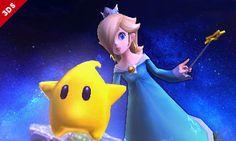 Rosalina & Luma - Super Smash Bros., Wii U