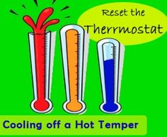 Reset the Thermostat on a Hot Temper - free printable handouts and worksheets! Anger hierarchy inoculation- would be very difficult for younger kids. Anger Management Activities, Counseling Activities, Therapy Activities, Behavior Management, Elementary School Counseling, School Social Work, School Counselor, Therapy Tools, Play Therapy