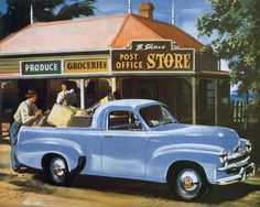 The ute ('coupe/utility') was an Australian innovation of the 1930s.