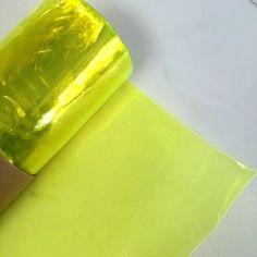 Tinted Glow Edge Vinyl - Neon Yellow