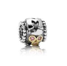 NEW! Authentic Pandora Mom Fancy Pink CZ Charm #790574CZS RETIRED #Pandora