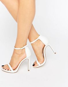 4e1c2a2c5e43 Leather Barely There Heeled Sandal  53.00 Fast Fashion