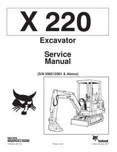 pdf bobcat 331 331e 334 compact excavator service manual sn rh pinterest com bobcat 331 excavator service manual bobcat 331 service manual pdf