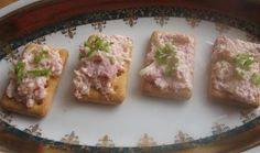 Vídeňská šunková pomazánka No Salt Recipes, Sushi, French Toast, Tacos, Chicken, Breakfast, Ethnic Recipes, Food, Catalog