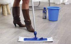 Limpiar tarima flotante quick step