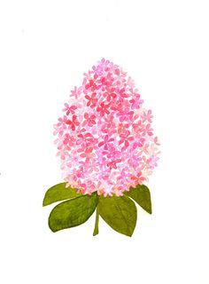 flower- original watercolor