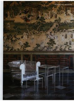 THE WORLD OF INTERIORS - GHOSTFIELD, design Paola Navone