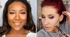New how to contour your face easy to get 60 Ideas Diy Beauty Face, Beauty Skin, Beauty Makeup, Hair Beauty, Beauty Box, Eye Makeup, Face Contouring, Contour Makeup, Contouring And Highlighting