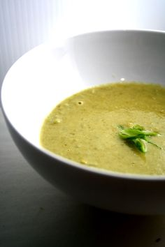 "Asparagus Soup with Bacon ""Sparrissoppa"""