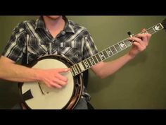 Free Banjo Lesson: Up The Neck Scruggs Backup - YouTube