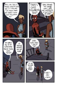 Spider-Man fans will love this artist's funny and lovable fan comics about Peter Parker's everyday life.