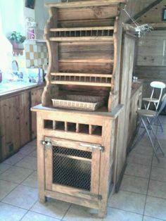 confiturier industriel 1 porte grillag en m tal noir. Black Bedroom Furniture Sets. Home Design Ideas