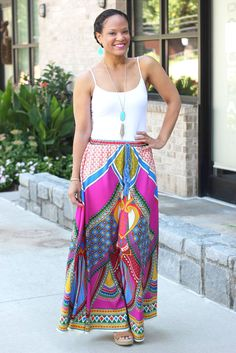 Aztec Maxi Skirts from The Mint Julep Boutique - StushiGal Style