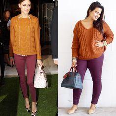Olivia Palemro thrift replication. Instagram: @dinasdays