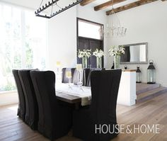 Barn-Inspired Dining Room | House & Home