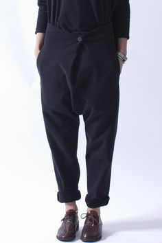 Incrocio Black Trouser More