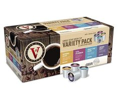 Victor Allen's Single Serve Coffee Cups Variety Pack Assorted Flavored 96 Piece: TrueGether.com