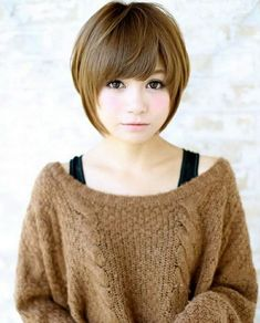 Winter Hairstyles 2018 for Asian Girls