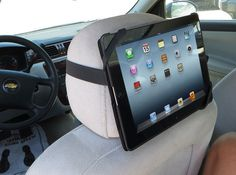 Review of Tatch   a simple, portable way to attach your iPad to a car headrest