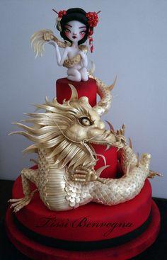 Dedicata alla figura elegante di una Geisha (persona dedita all'arte...