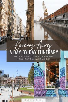 The perfect Buenos Aires itinerary, how to spend three days in Buenos Aires with this 3 day Buenos Aires itinerary. Add day trips to make this the ideal one week in Buenos Aires itinerary, best Buenos Aires neighborhoods in this Argentina capital city, Bu South America Destinations, South America Travel, Travel Destinations, Holiday Destinations, Brazil Travel, Peru Travel, Hawaii Travel, Italy Travel, Tango