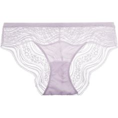 Calvin Klein Underwear Hipster mid-rise stretch-lace briefs ($24) ❤ liked on Polyvore featuring intimates, panties, lingerie, lilac, hipster panties, hipster panty, stretch lace thong, lingerie thongs and lingerie panty