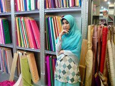 still can wear #pattern on simple long khimar style #shar'i #Hijab #muslimfashion