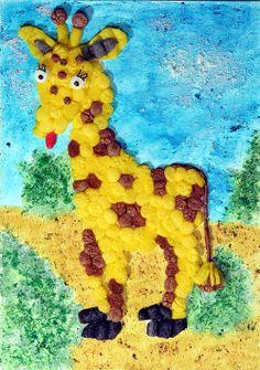 Modell Giraffe von fischer TiP