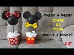 Ideias Decoração e Lembrancinhas Festa Aniversário Mickey Mouse Disney - YouTube
