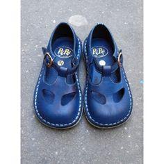 Chaussures basses ouvertes Navy [Pèpè]