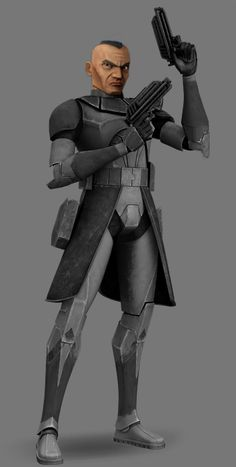 A Phase I render of my fanon character: Clone Captain Shale. Shale led the 4th Armored Infantry, an elite unit of special operations clone troopers, during the Clone Wars. He and his men specialize...