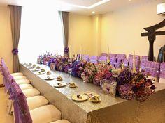 """Cô dâu Sài Gòn sử dụng cả """"vườn hoa tím"""" để trang trí nhà ngày cưới"""