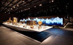 [Love the giant cantilevered table -area] MEG – Musée d`ethnographie de Genève: ATELIER BRÜCKNER